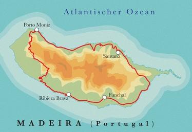 Route Madeira, 8 & 10 Tage Wanderreise