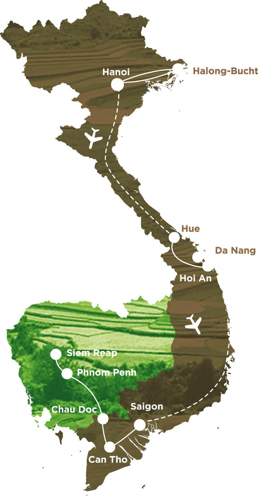 rundreise vietnam kambodscha mit kindern 15 tage. Black Bedroom Furniture Sets. Home Design Ideas