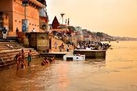 Indien Varanasi Ganges
