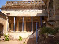 Indien Mandawa Haveli Kaufmannshaus