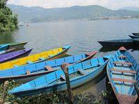Nepal Pokhara Phewa-See