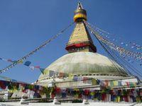 Nepal Kathmandu Boudnath