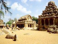 Mahabalipuram, Fünf Rathas, Südindien