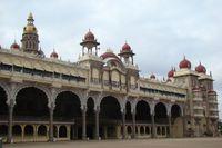 Maharadscha Palast, Mysore, Südindien