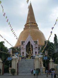 Nakhon Pathom Chedi, Thailand