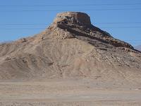 Turm des Schweigens Yazd Iran