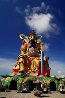 Kaohsiung Tempel Statue