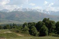Aksu Djabagly, Naturreservat