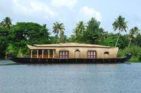 Hausboot, Kerala Backwaters, Südindien