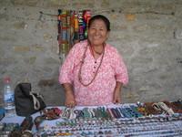 Schmuckverkäuferin, Nepal